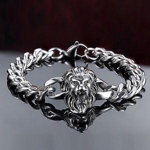 Other - Lion for Men Signet Stainless Bracelet